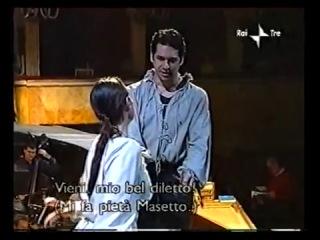 La ci darem la mano - Ildebrando D'Arcangelo - Don Giovanni - Rehearsal (2002)